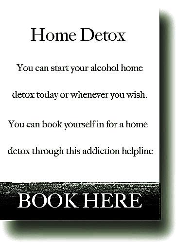 Drugs Problem Detox at Home